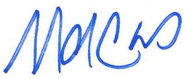 Marcus J. Molinaro signature